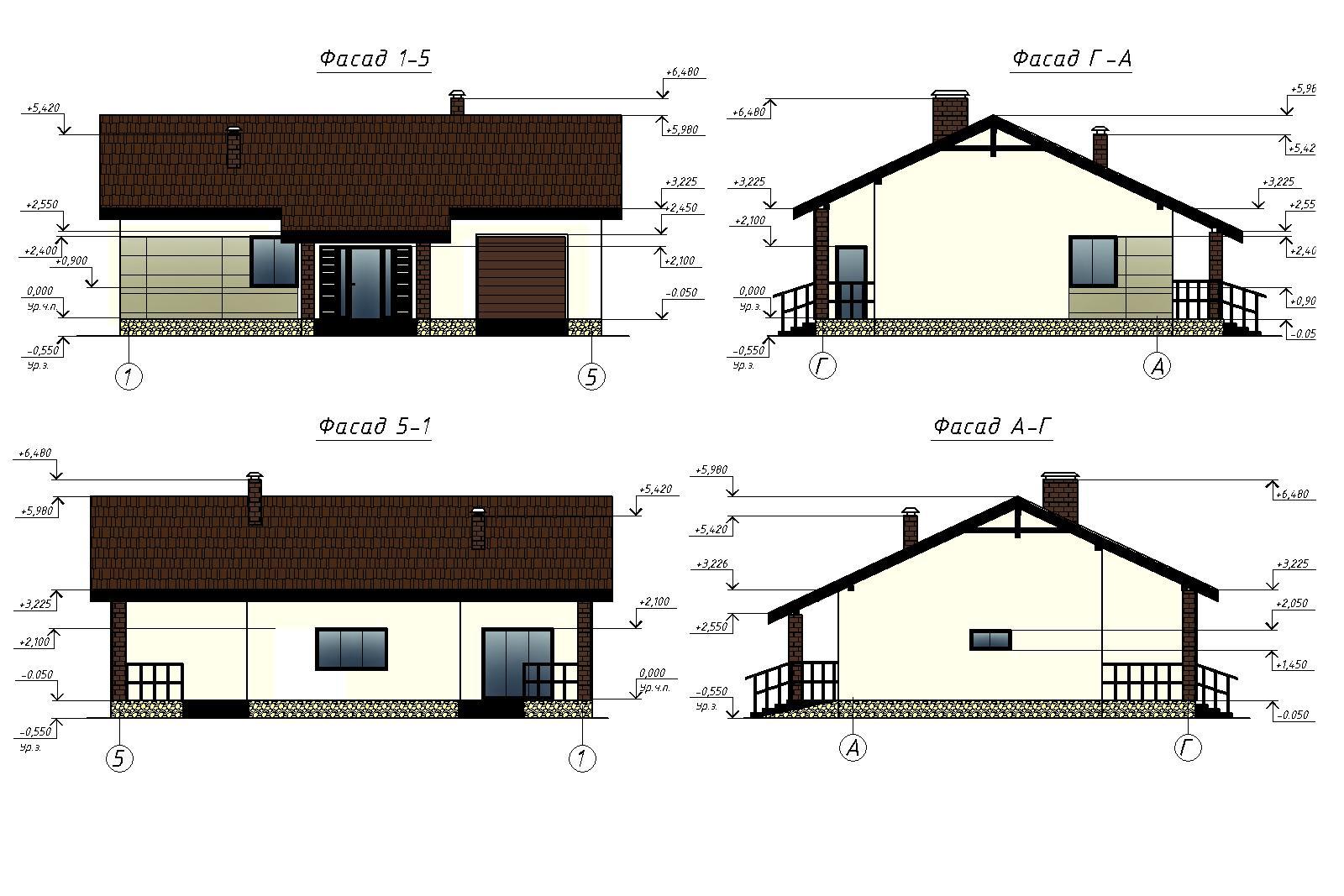 Проект А0902 фасад