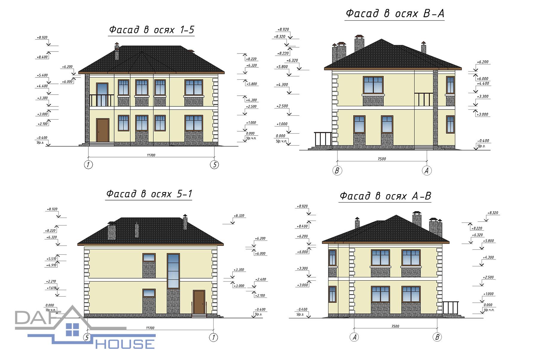 Проект С0114 фасад