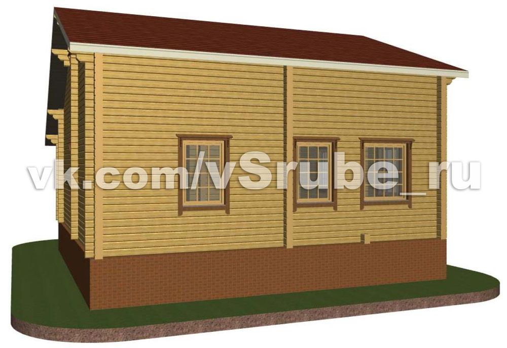 Проект Д-016 фасад