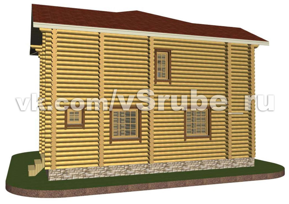 Проект Д-018 фасад