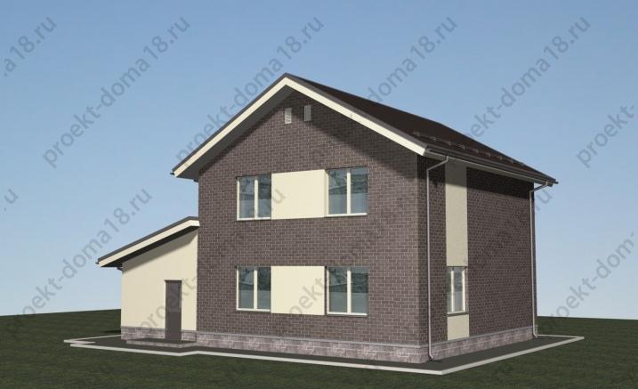 Проект Л-02-22 фасад