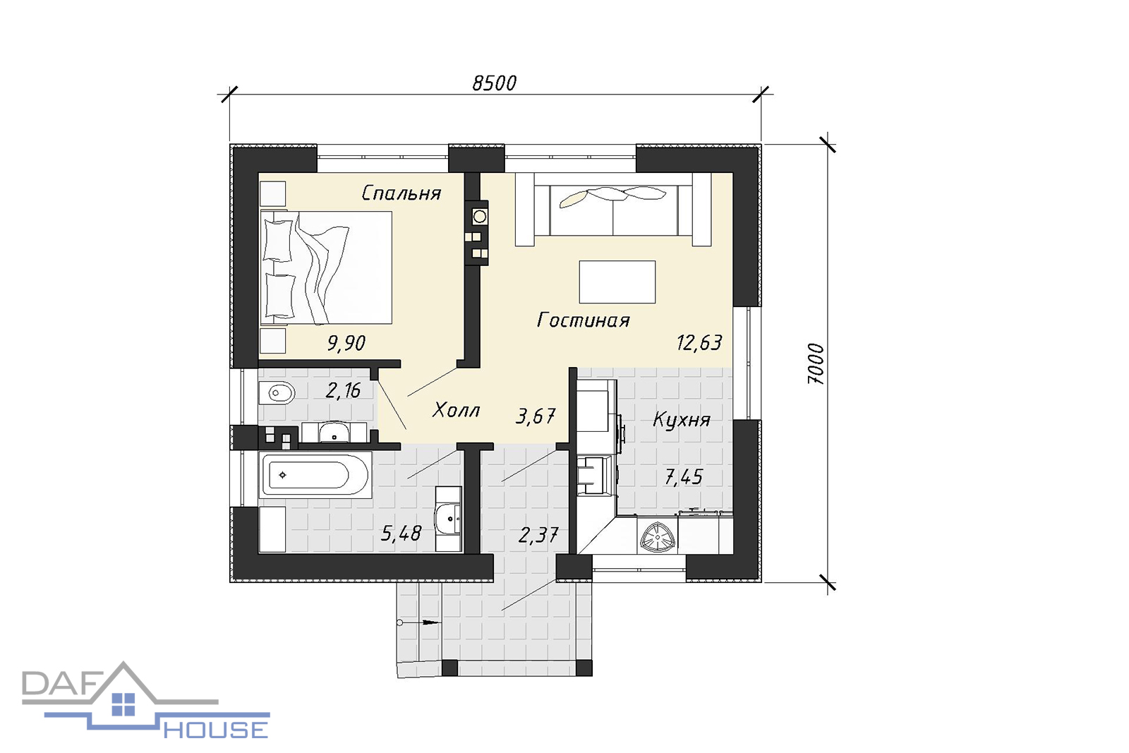 Проект А1192 план