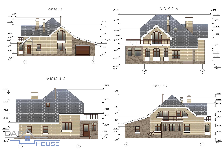 Проект В0594 фасад