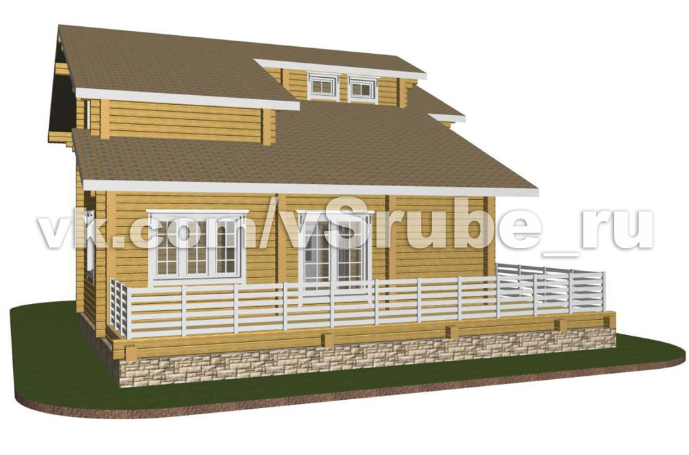 Проект Д-048 фасад