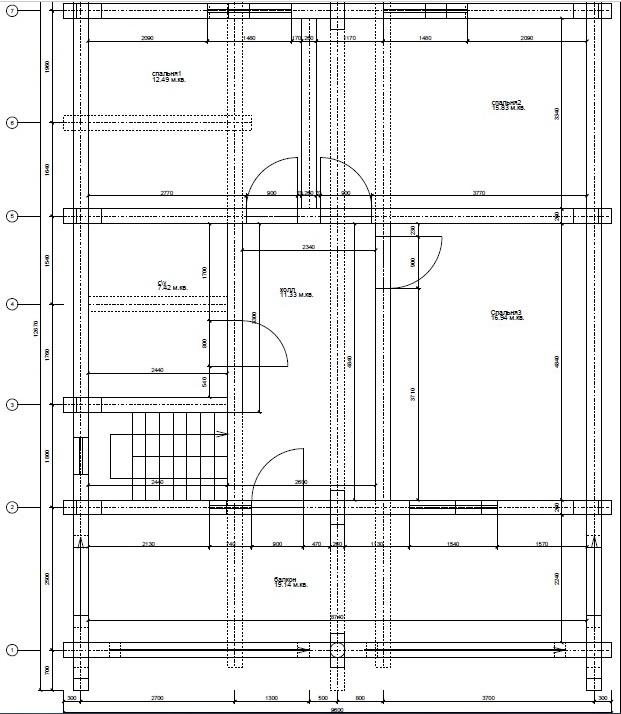 Баня из оцилиндрованного бревна план