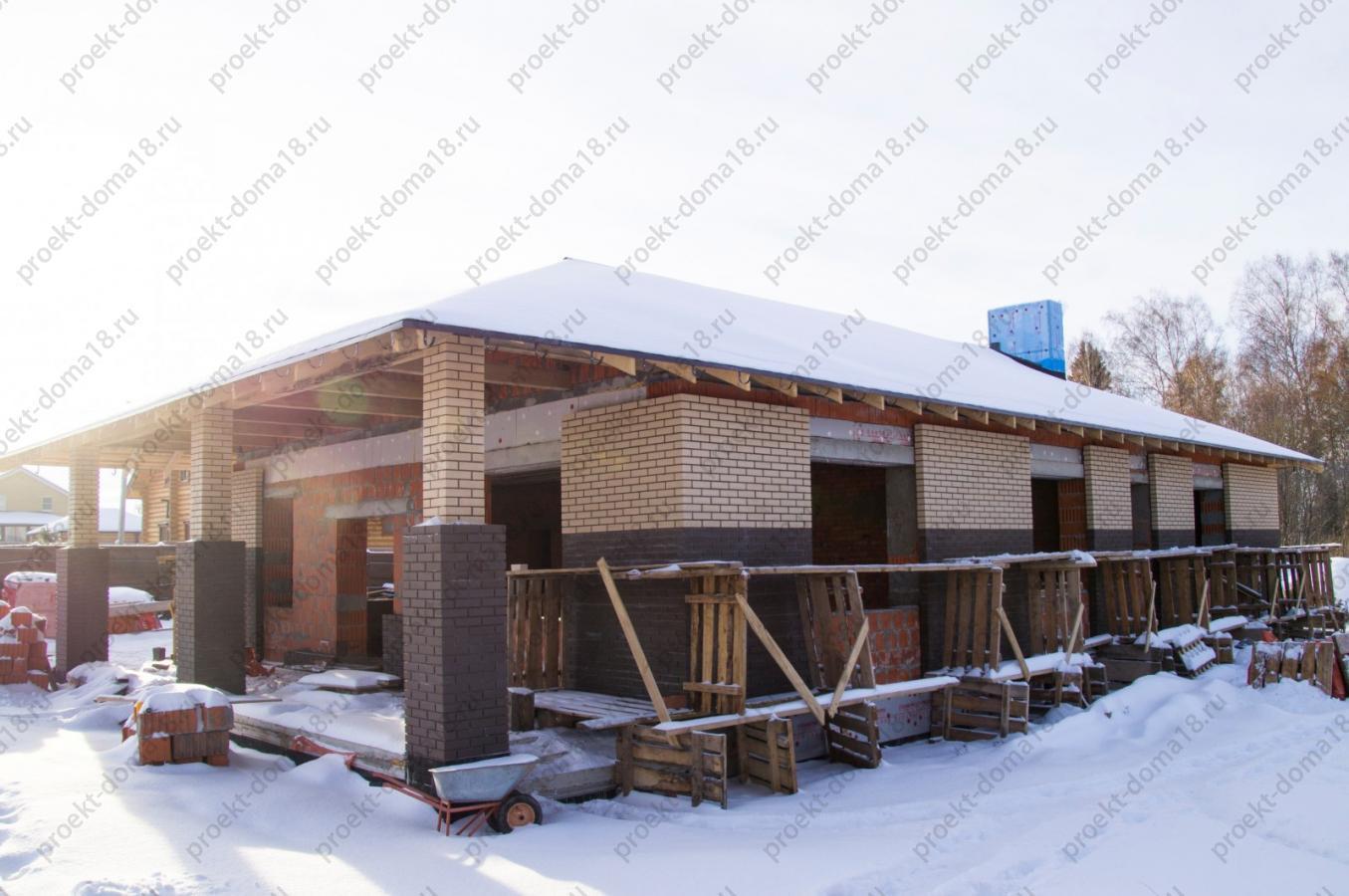 Проект А-07-16 фасад