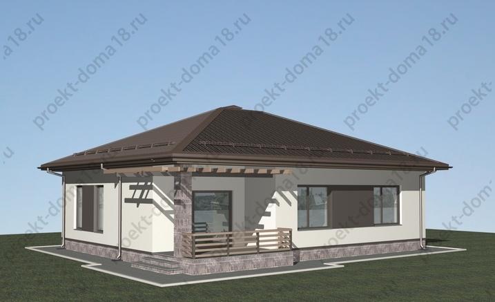 Проект А-07-18  фасад