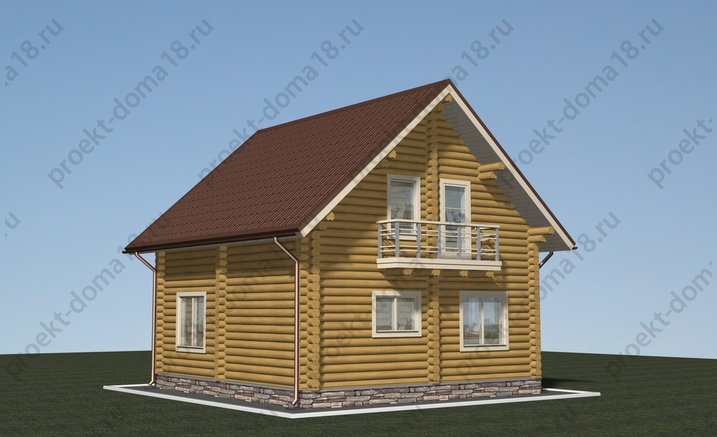 Проект Д-01-12 фасад