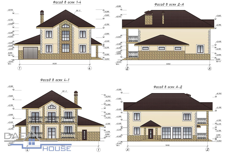 Проект С1695 фасад