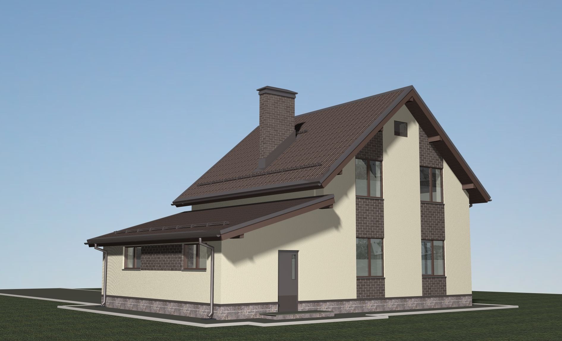 Проект Л-02-23 фасад