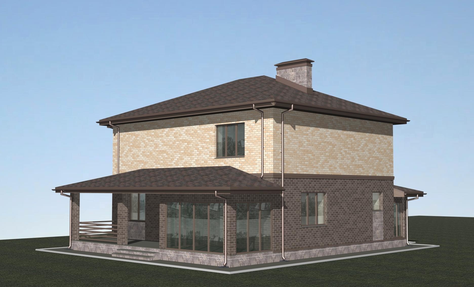 Проект Н-09-22 фасад