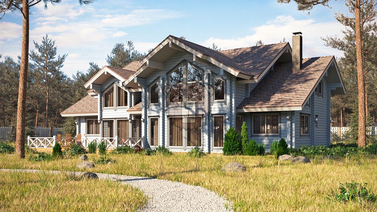 Дом на Медном Озере  фасад