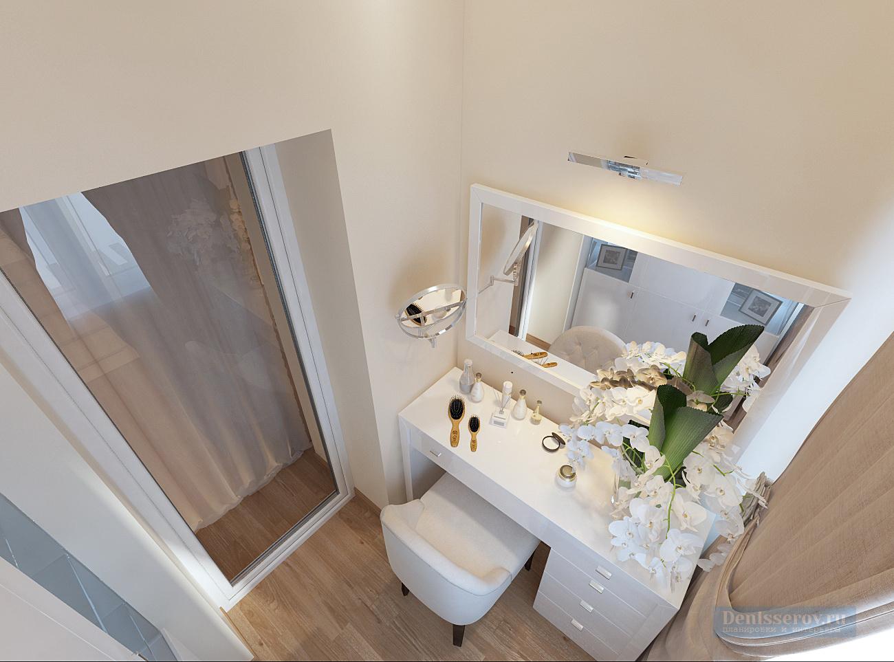 Спальни photos: место для туалетного столика в хозяйской спа.
