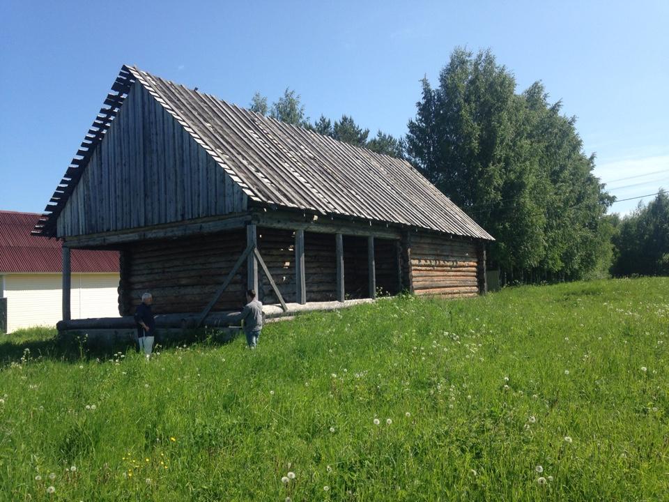 Реконструкция старого дома. фасад