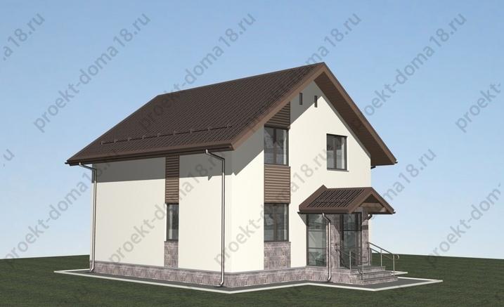 Проект жилого дома в г. Севастополь фасад