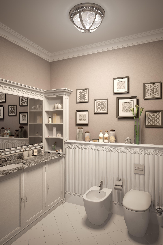 Оригинальный дизайн ванной комнаты в 5 шагов