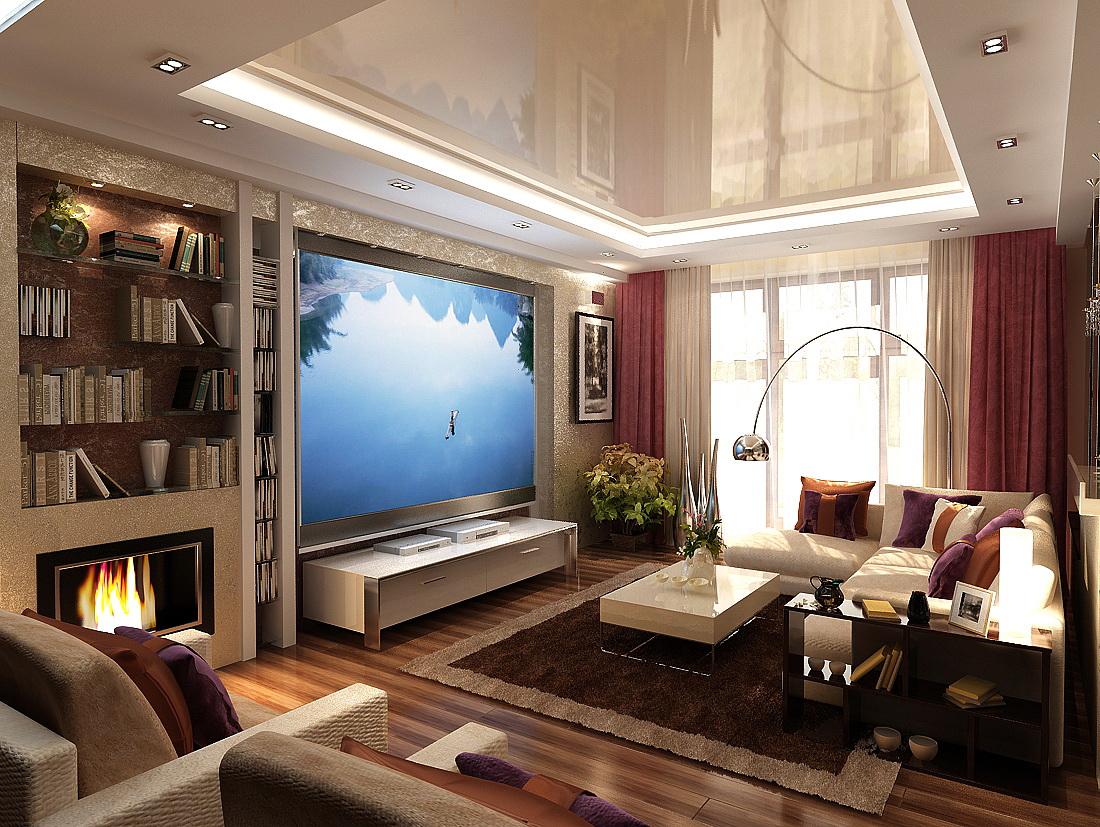 Дизайн трехкомнатной квартиры в современном стиле фото