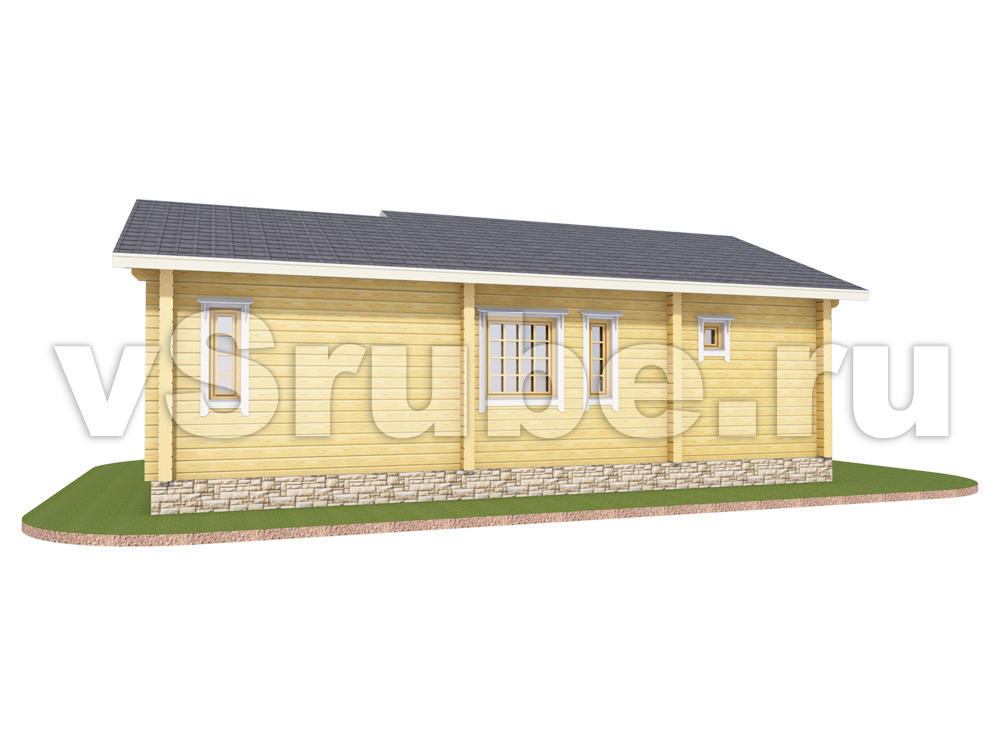 Проект Д-020 фасад