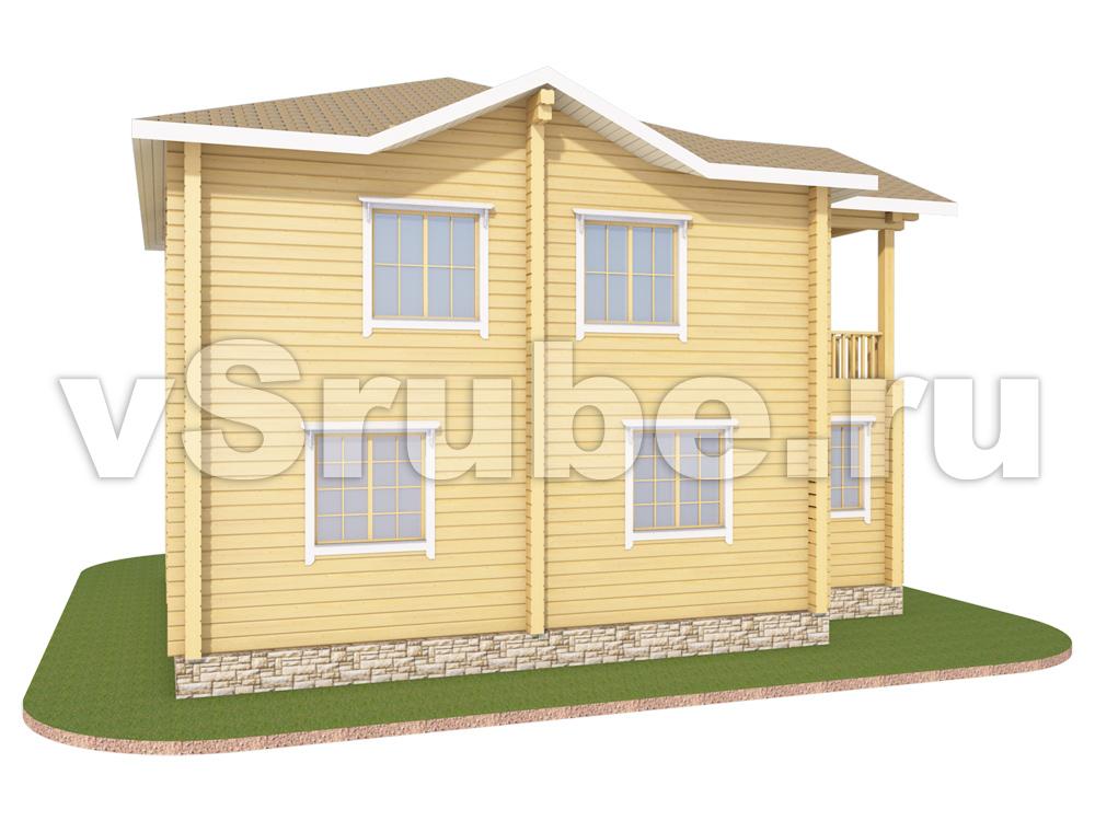 Проект Д-040 фасад