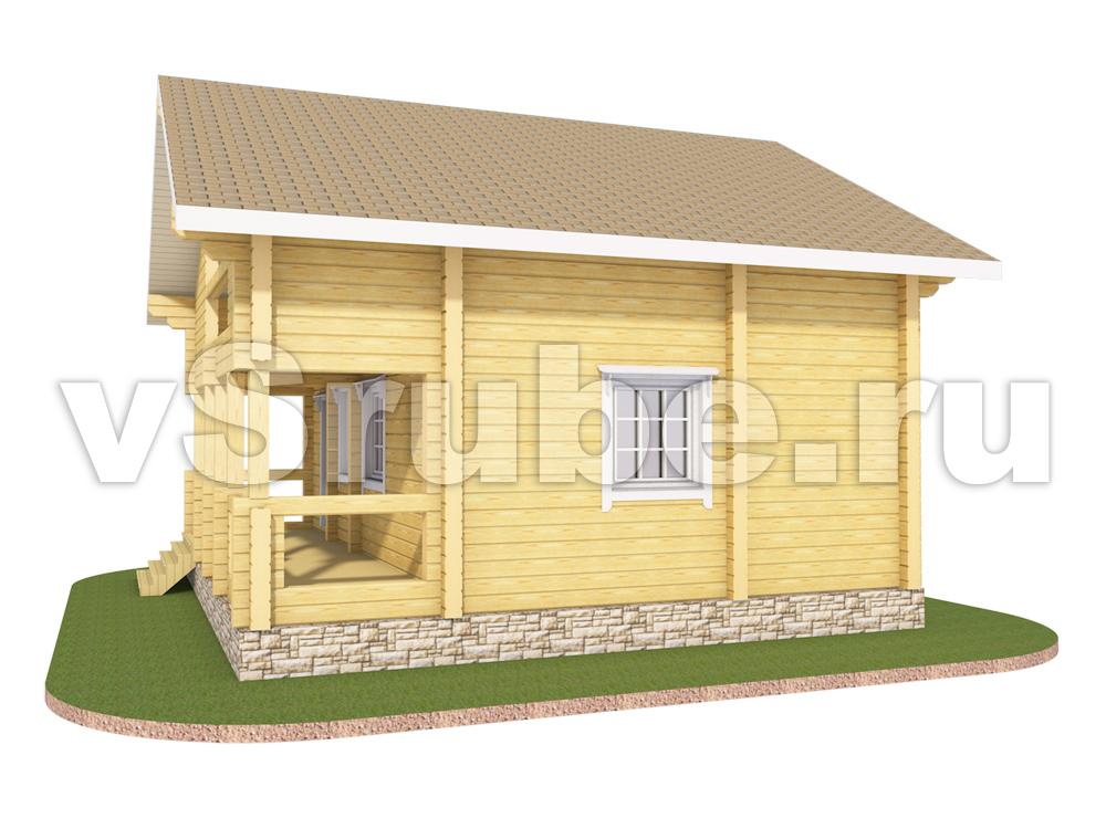 Проект Д-043 фасад