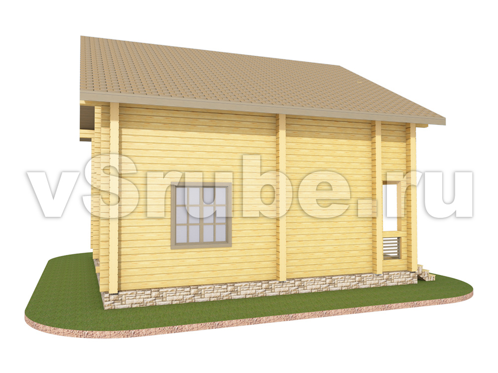 Проект Д-044 фасад