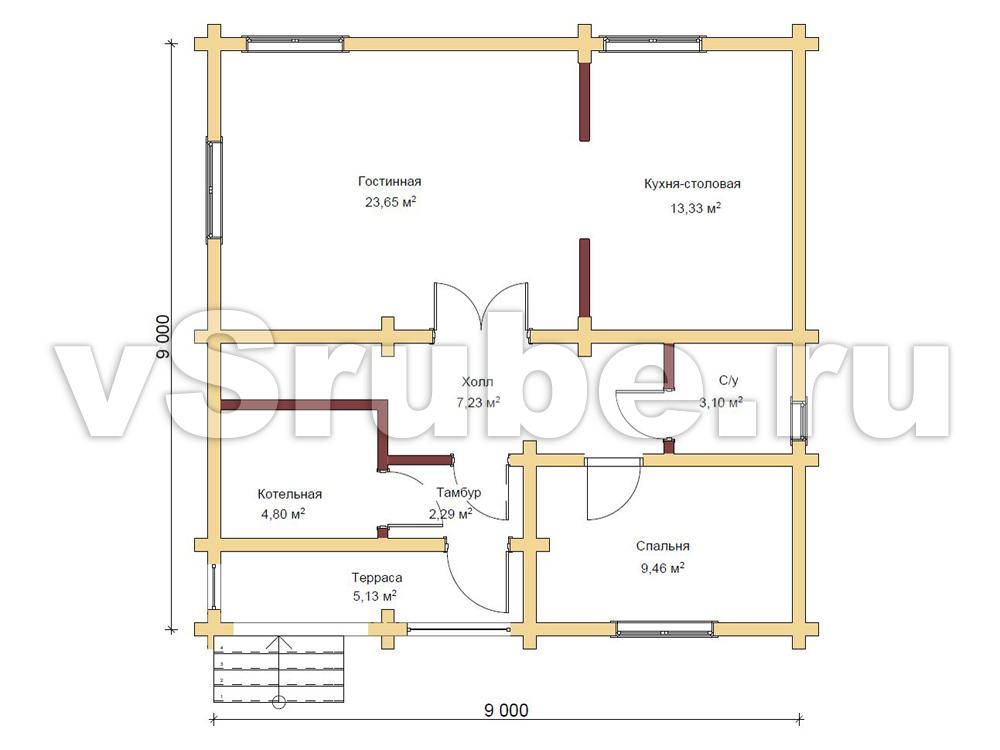Проект Д-044 план