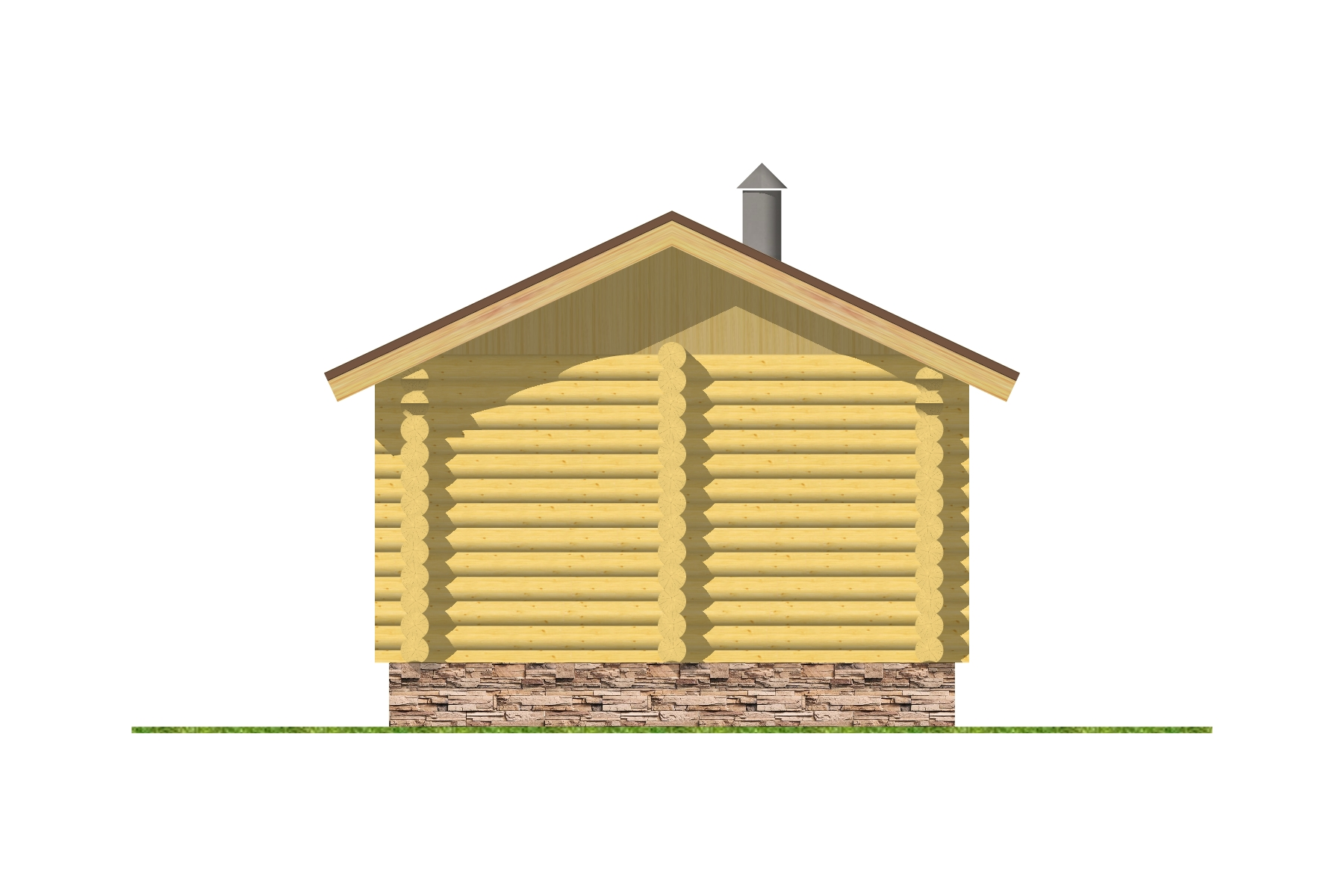 "Баня ""Клюква"" фасад"