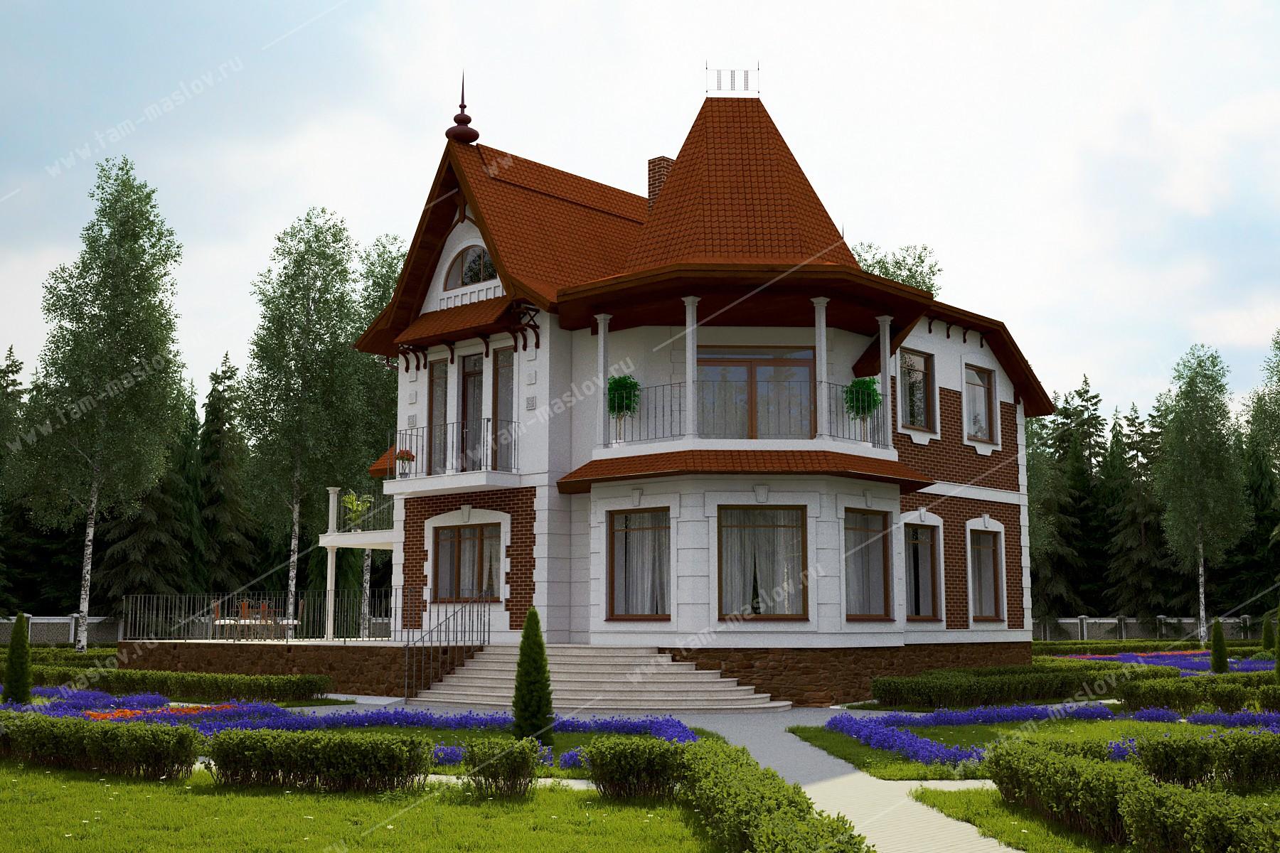 """проект """"Готика"""" фасад"""