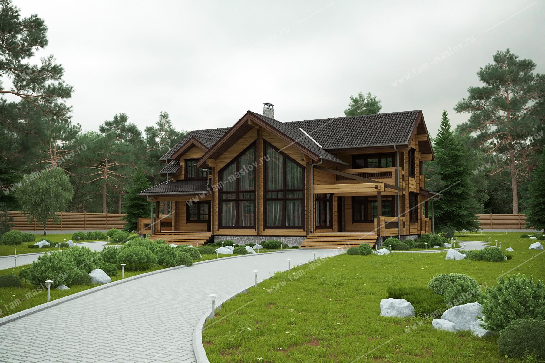 """проект """"Сосновый"""" фасад"""