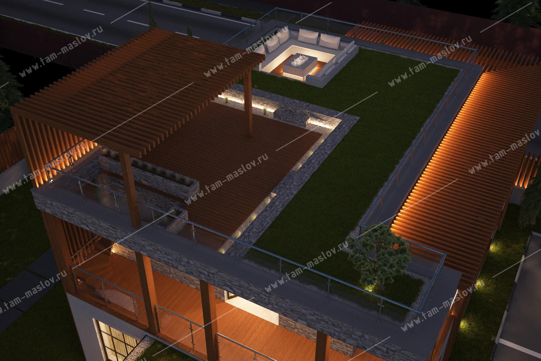 """проект офиса """"Нео"""" фасад"""