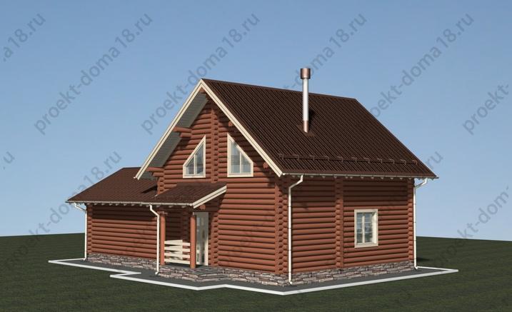 Гостевой дом-баня фасад