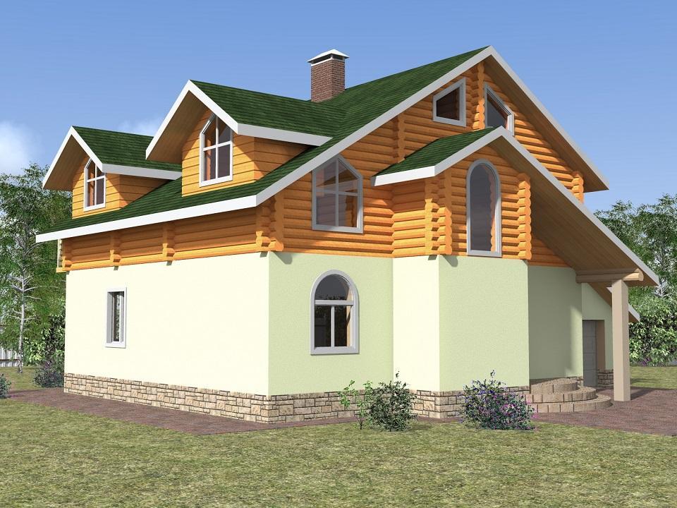 ВОСТОРГ-2 фасад
