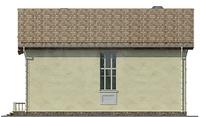 Проект кирпичного дома 37-31 фасад