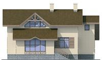Проект кирпичного дома 37-39 фасад