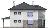 Проект кирпичного дома 37-81 фасад