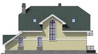 Проект кирпичного дома 37-82 фасад