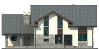 Проект кирпичного дома 37-87 фасад