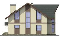 Проект кирпичного дома 38-08 фасад