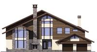 Проект кирпичного дома 38-60 фасад