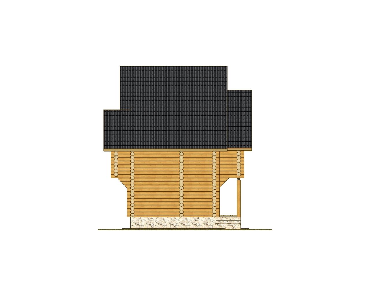 "Гостевой дом - баня ""Тула"" фасад"
