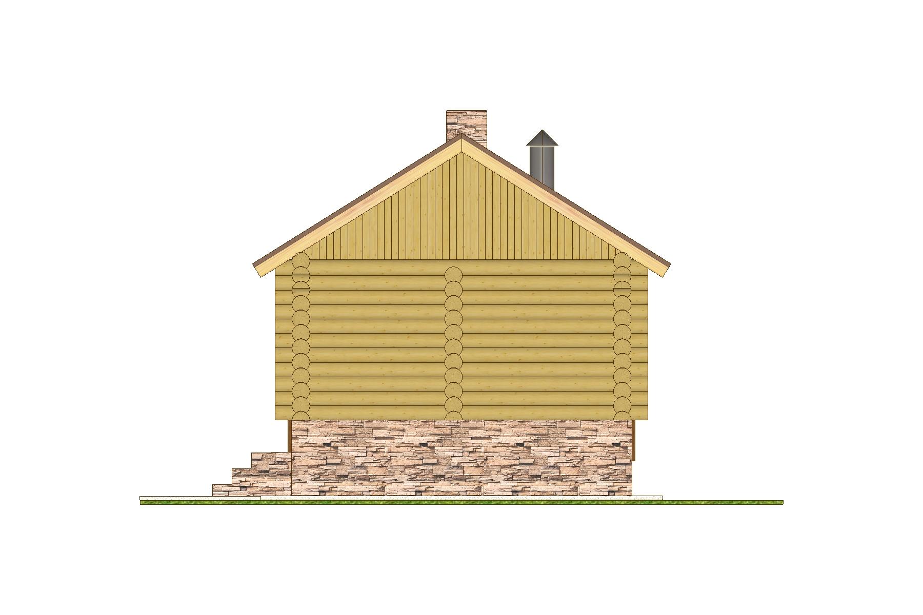 "Баня ""Лотос"" фасад"