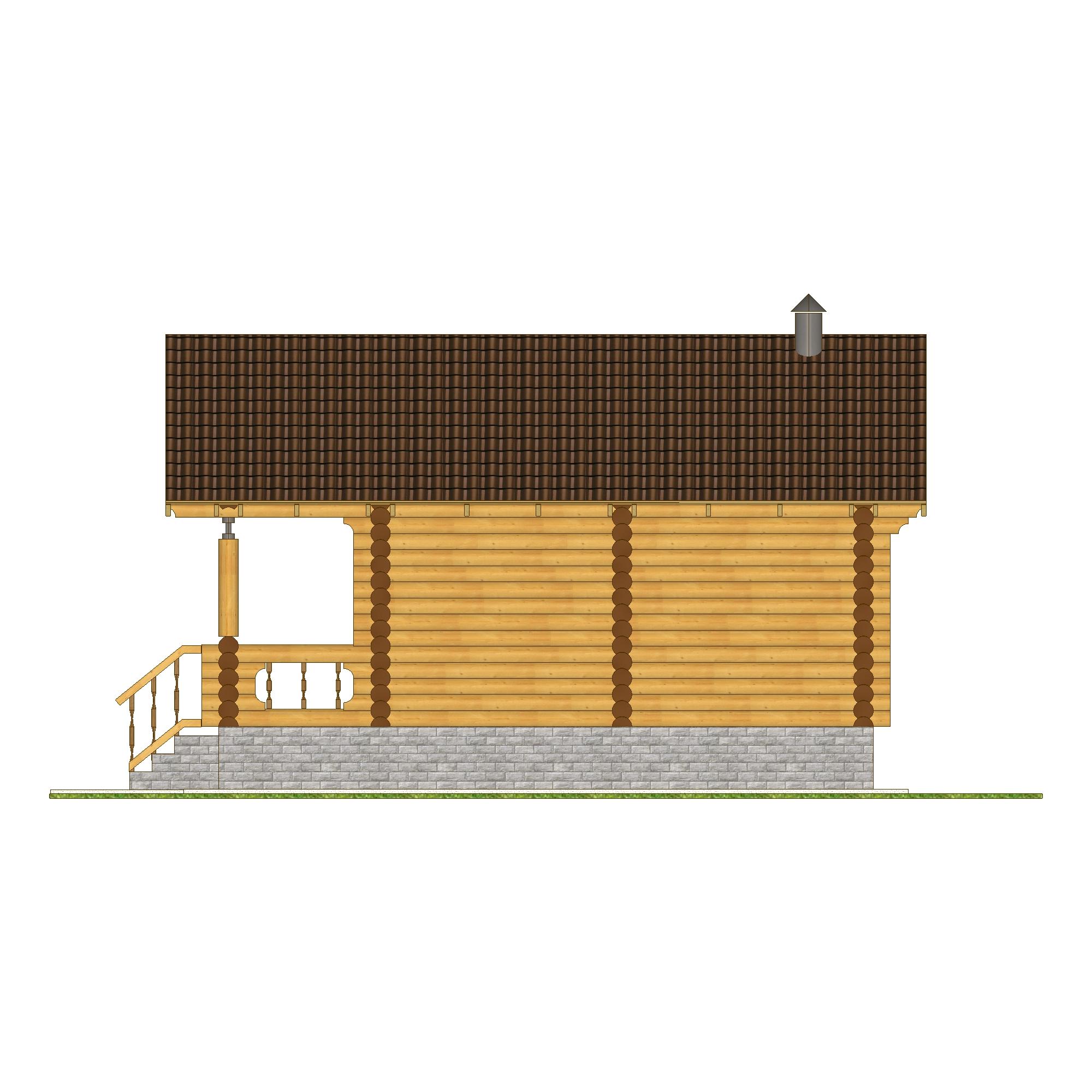 """Баня """"Калипсо"""" фасад"""