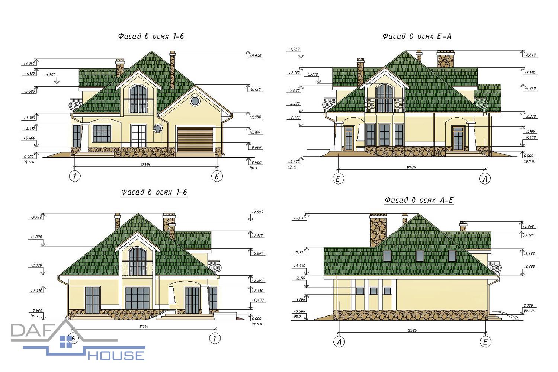 Проект В1154 фасад