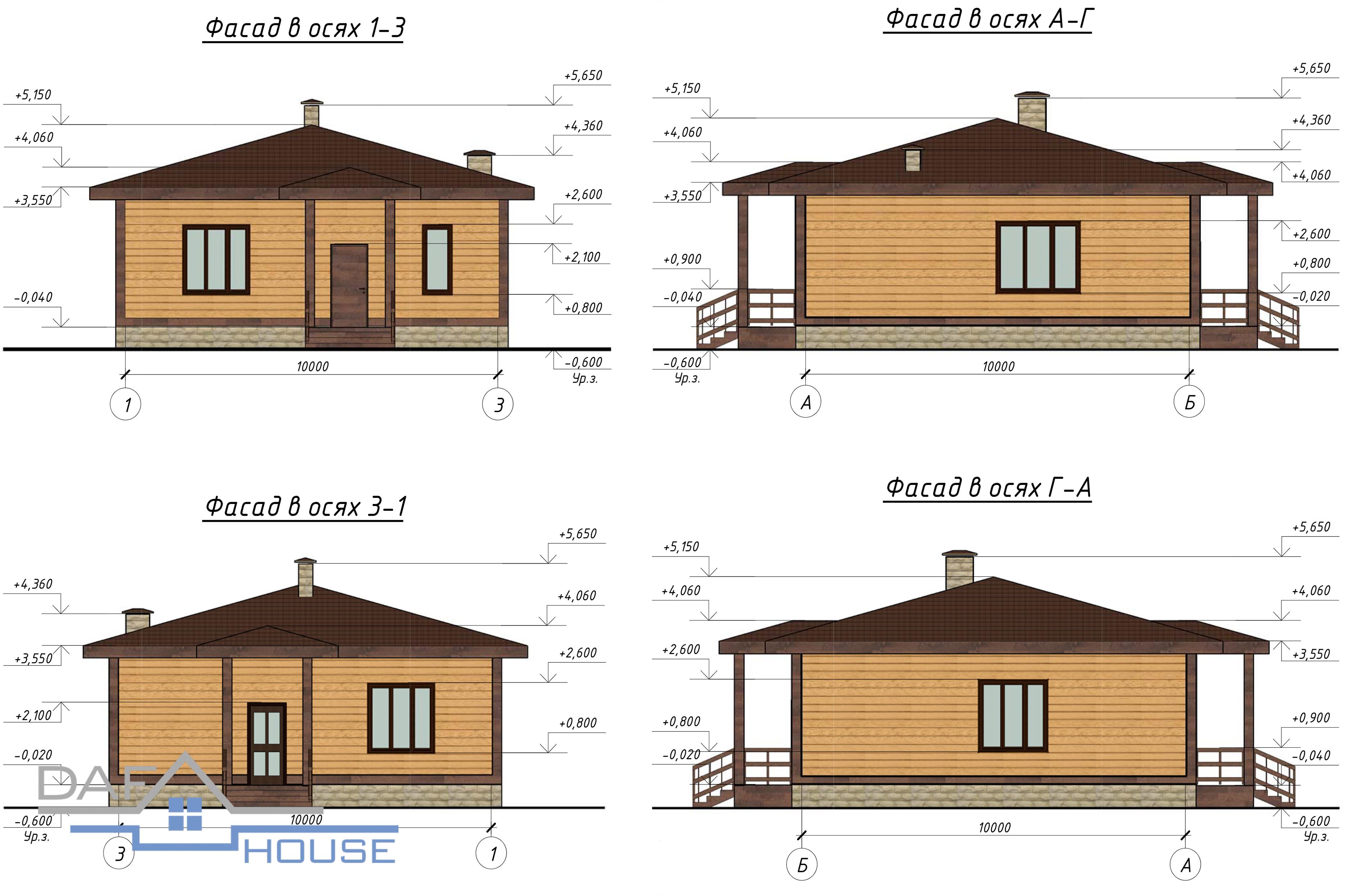 Проект А5212 фасад