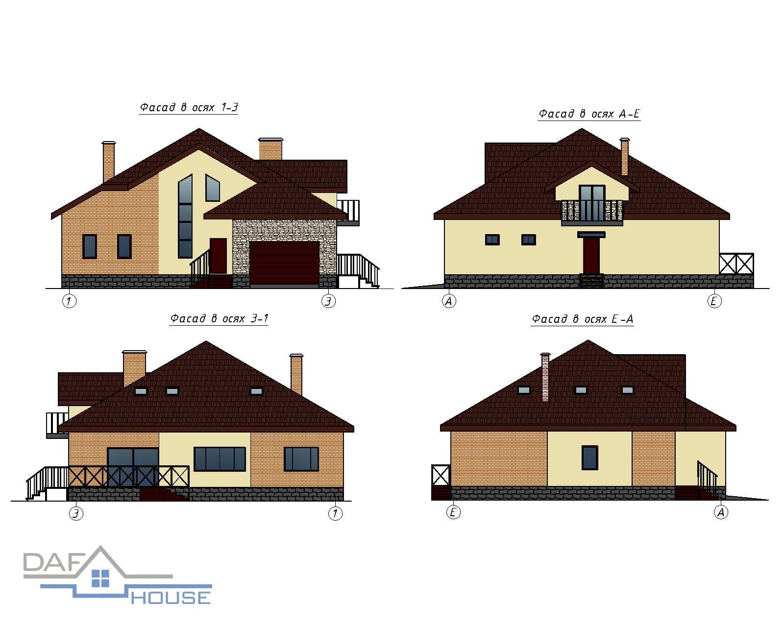 Проект В2006 фасад