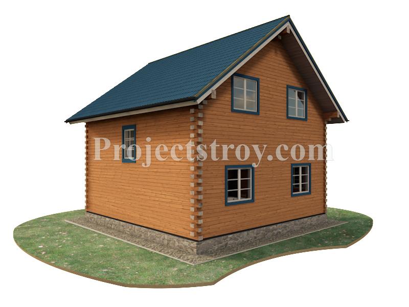 Дома из бруса при строительстве в теплый угол фасад