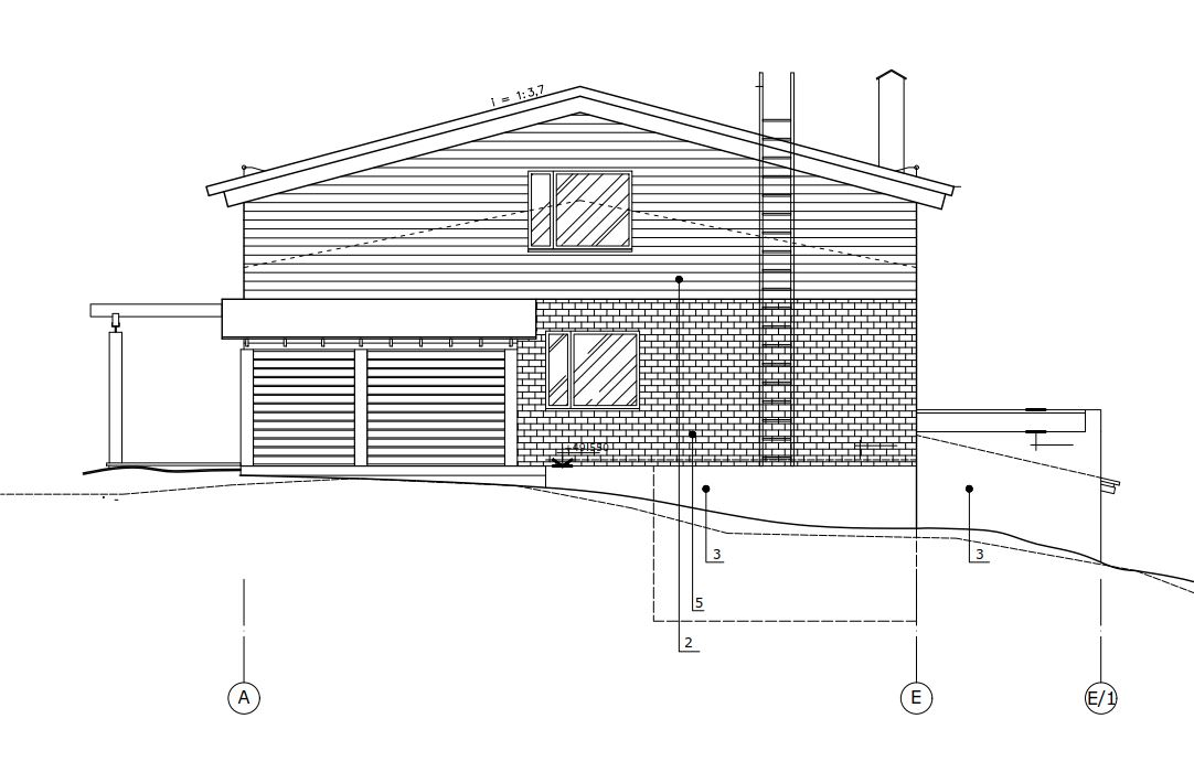 строительство второго этажа в частном доме фасад