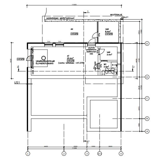 строительство второго этажа в частном доме план