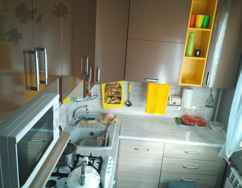 Идея кухни в брежневке фото