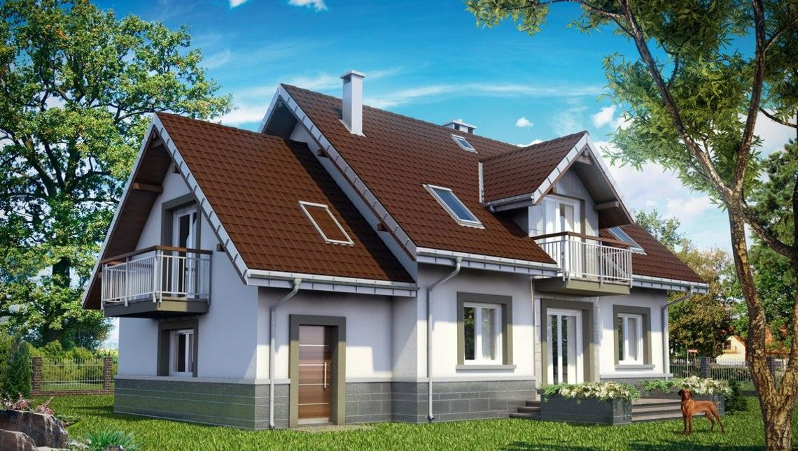 Проект AM-3425 фасад
